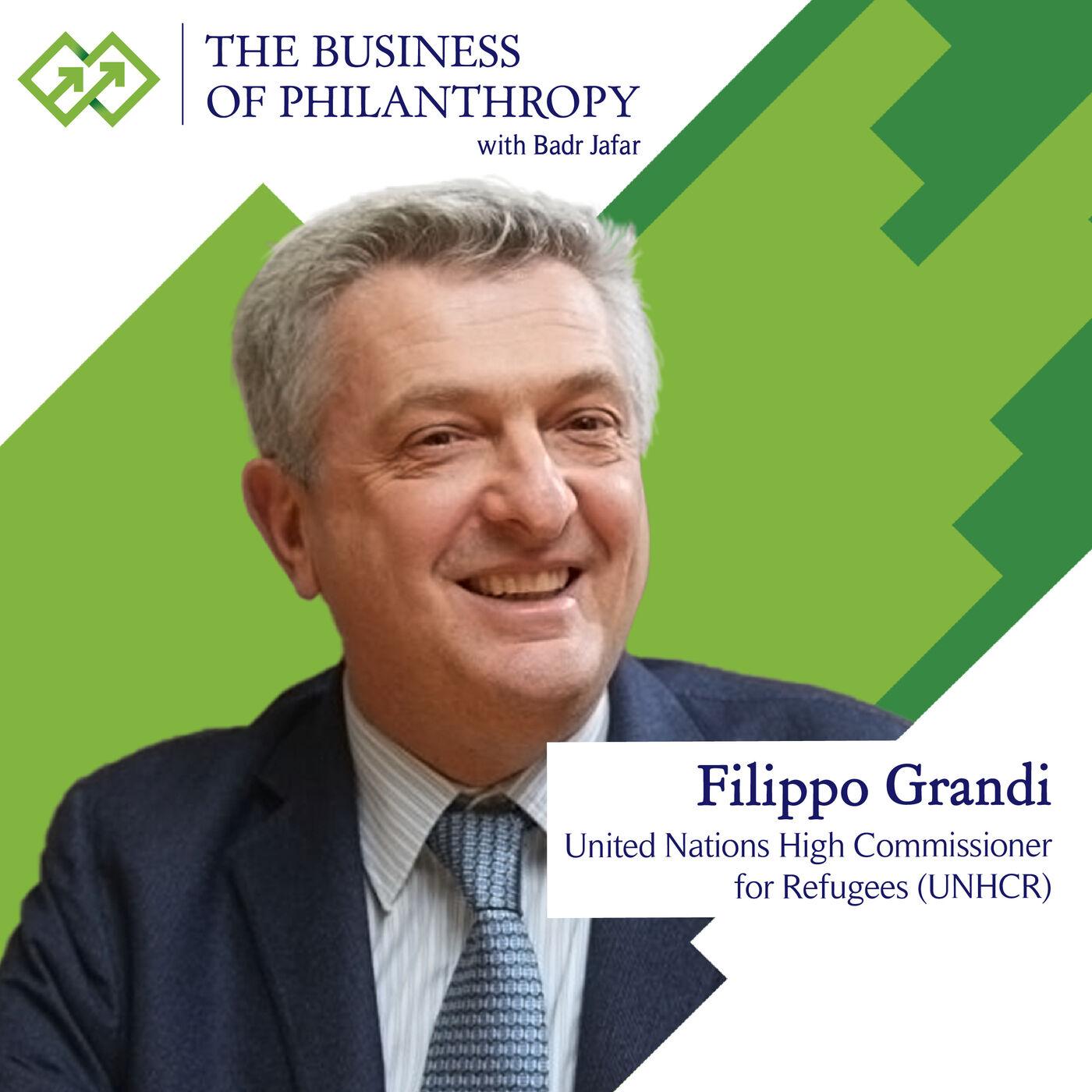 Filippo Grandi; A Conversation with Badr Jafar