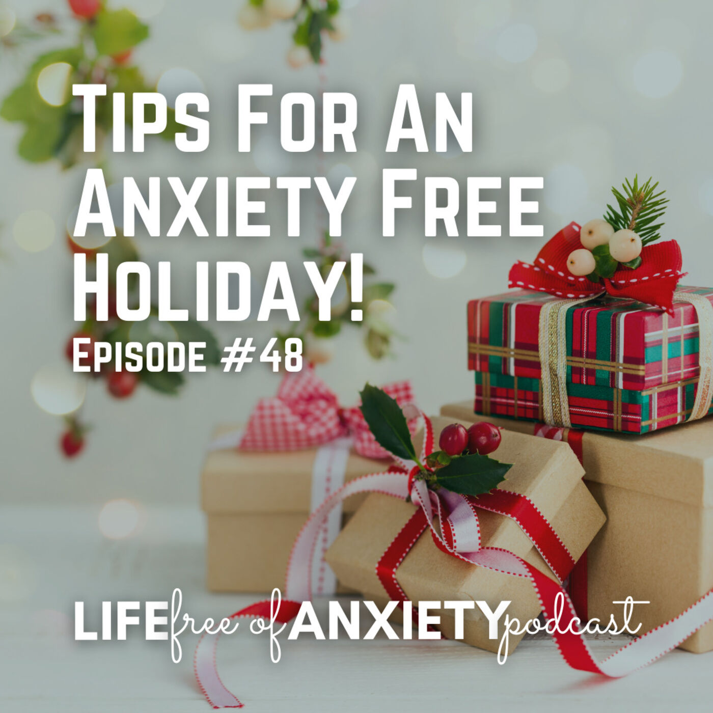 E048 - Tips For An Anxiety Free Holiday!