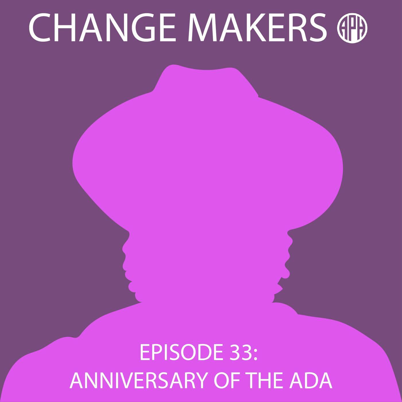 Anniversary of the ADA