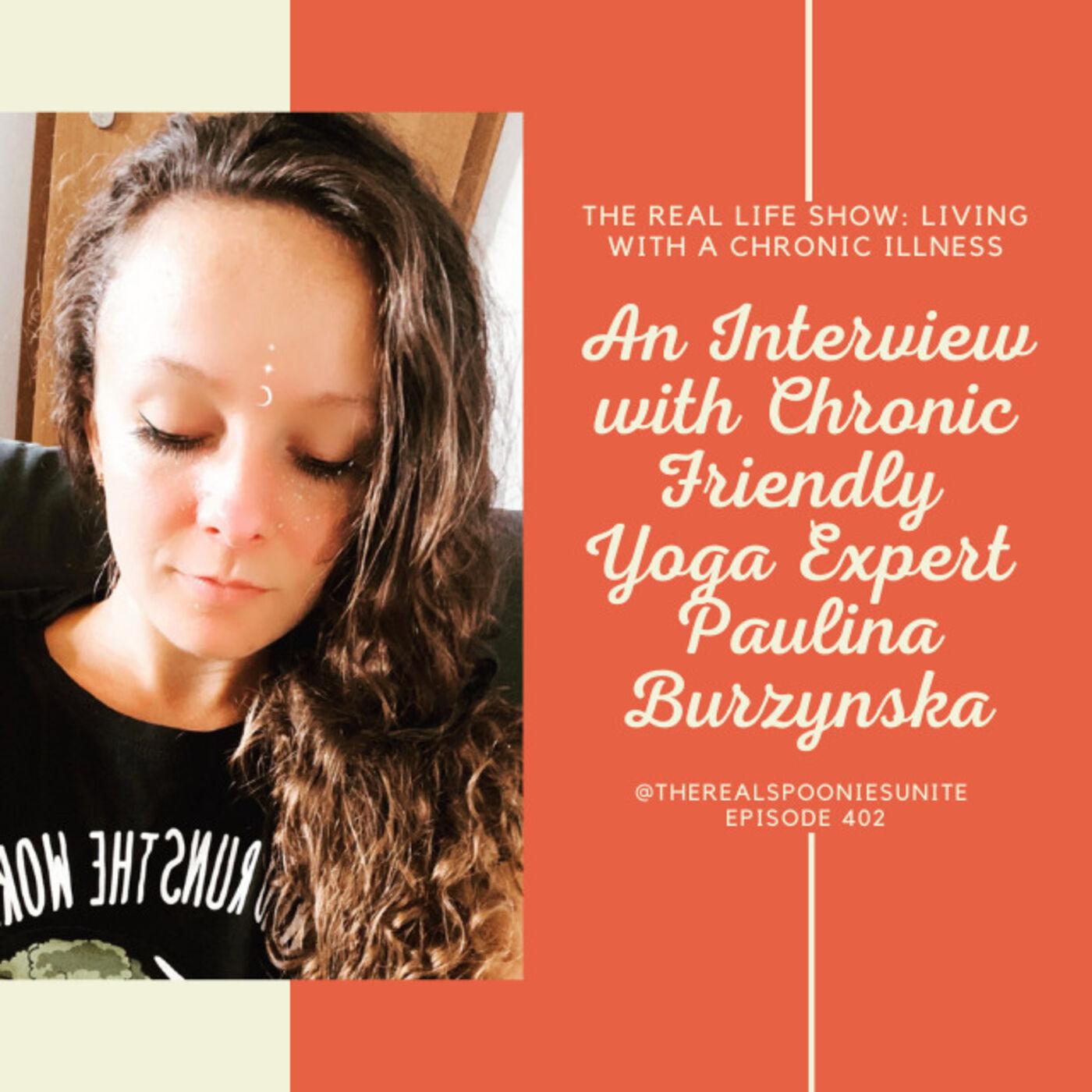 An Interview with Chronic Friendly Yoga Expert Paulina Burzynska