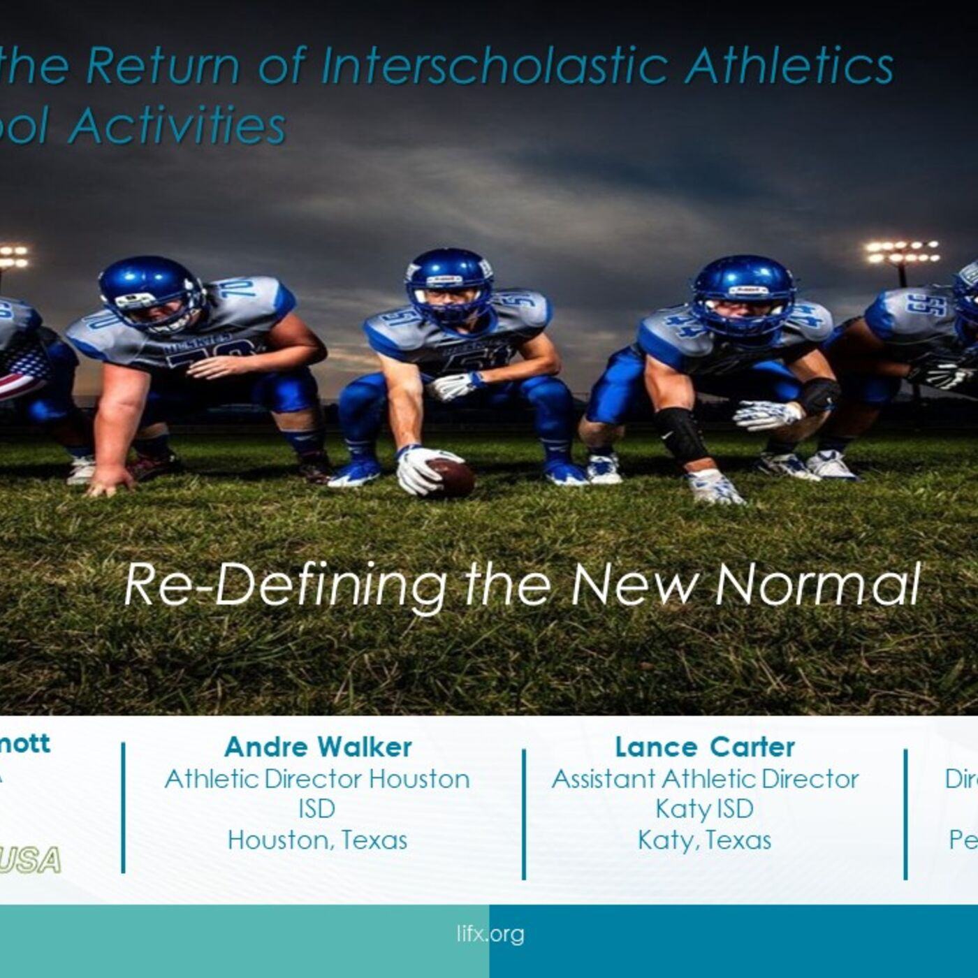 Session 8 - Redefining the New Normal