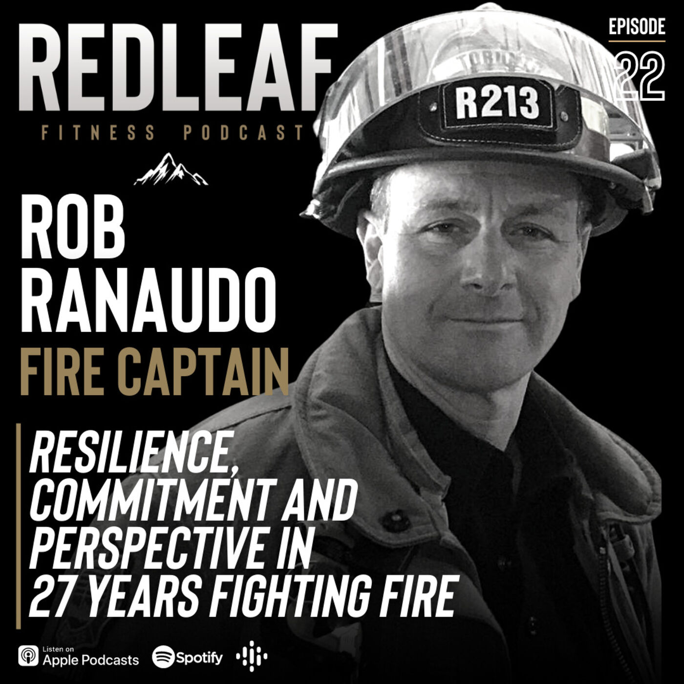 Ep.22 | Rob Ranaudo: Toronto Fire Captain- Resilience, Commitment and Perspective in 27 years Fighting Fire in the city of Toronto