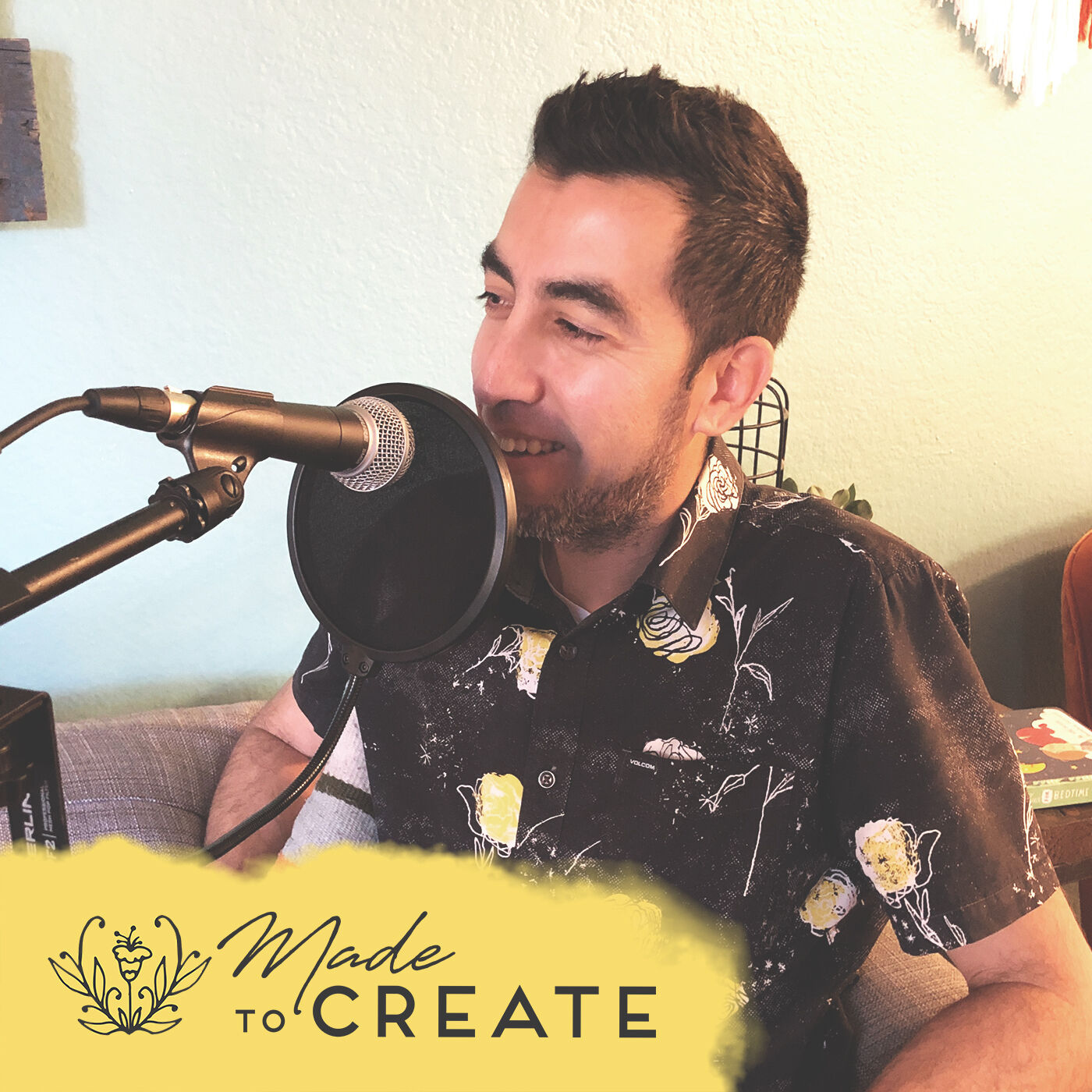 For the Love of Creativity with Roberto Comparan