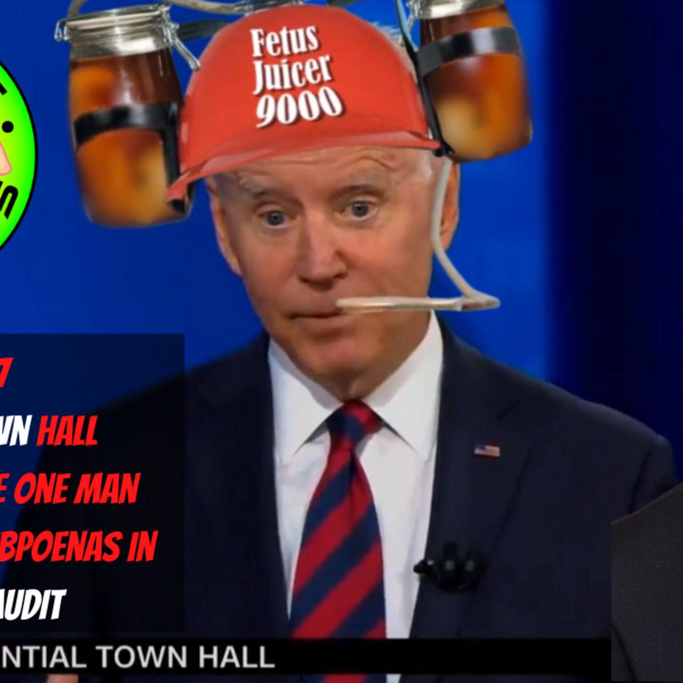 WS#77 Biden's Clown Hall, Paul Boyer- The One Man Stopping The Subpoenas In AZ Audit