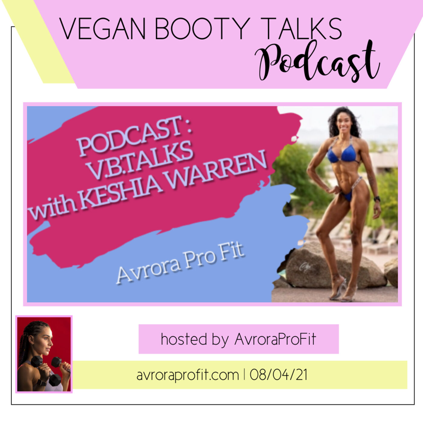 V.B.TALKS with vegan Doctor of Physical Therapy KESHIA WARREN