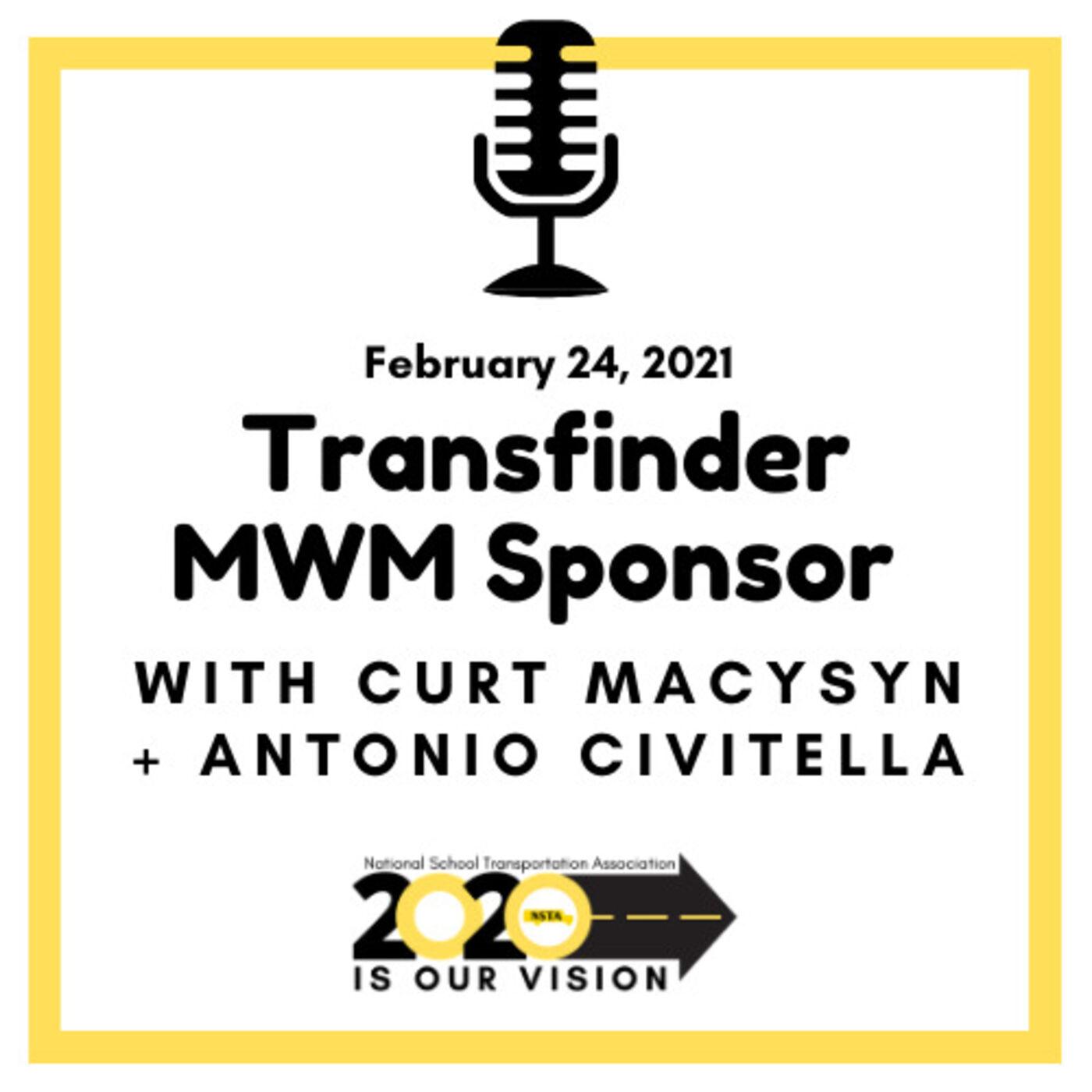 Transfinder-MWM Sponsor:  Antonio Civitella CEO
