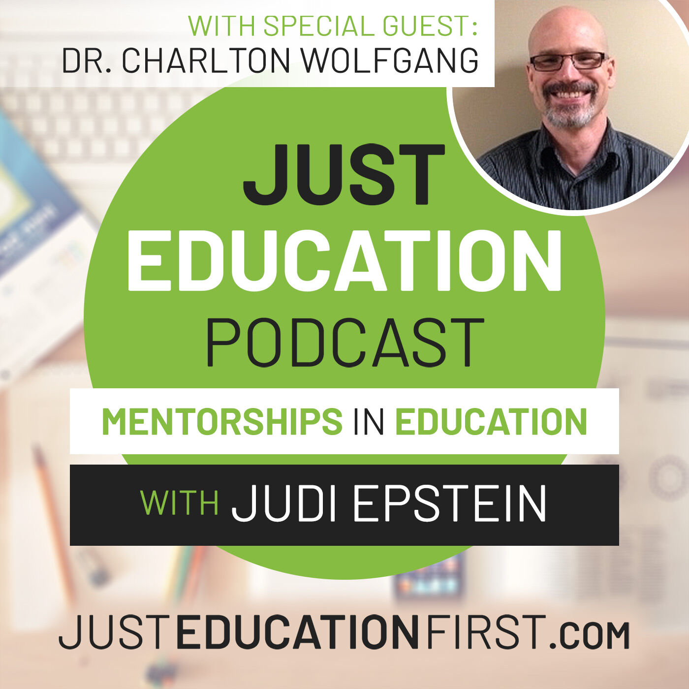 Episode 29 - Dr. Charlton Wolfgang | Not Weird, but Twice Exceptional.