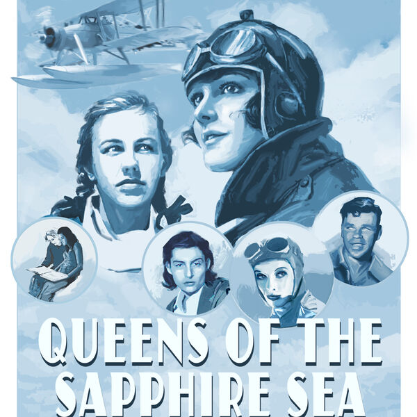 Queens of the Sapphire Sea Podcast Artwork Image