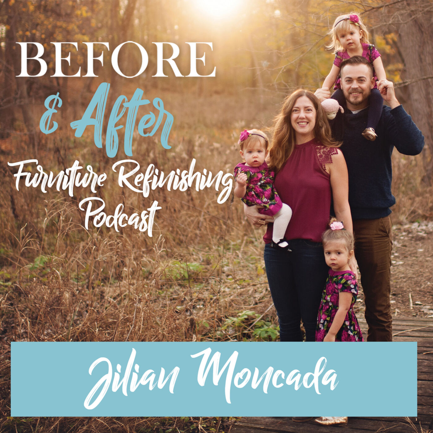 """""""To stain or not to stain?"""", that is the question. The answer will be discussed in detail with Jilian Moncada of Refind Design by Coco Clare."""