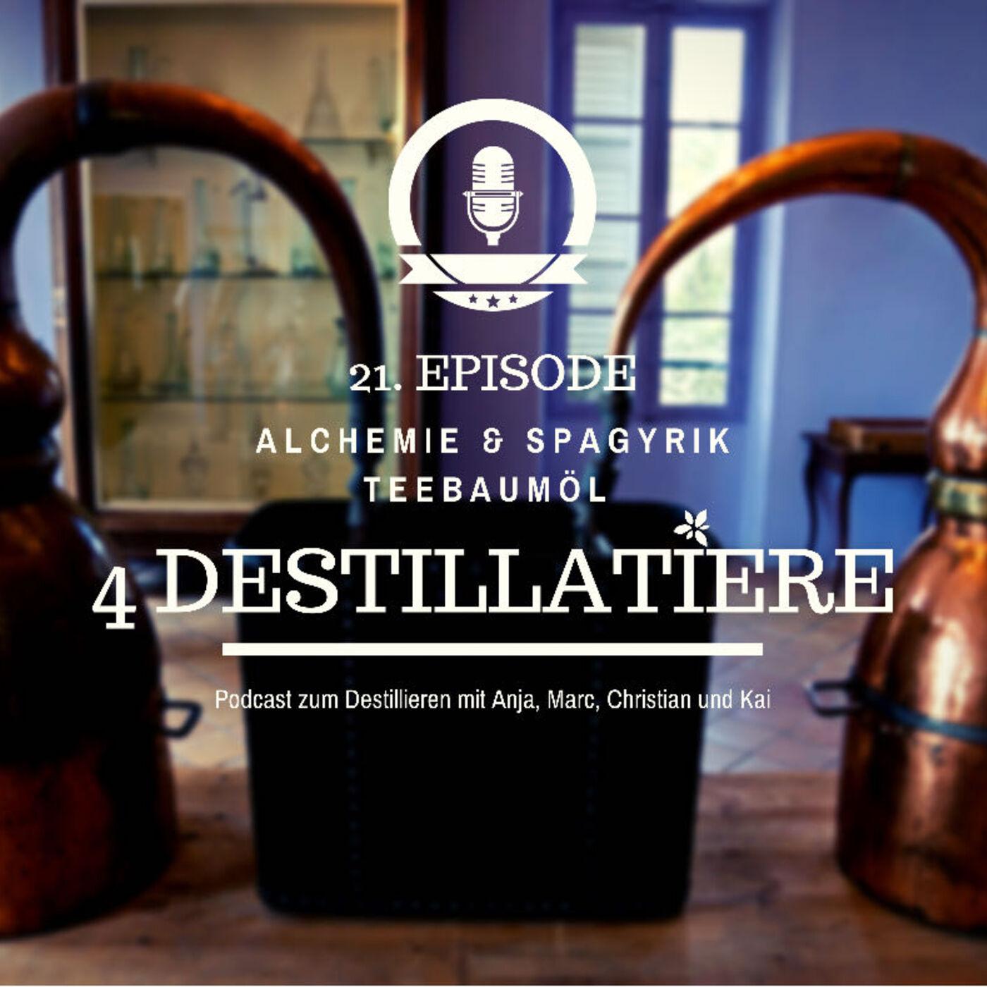 4D 021: Alchemie & Spagyrik | Teebaumöl