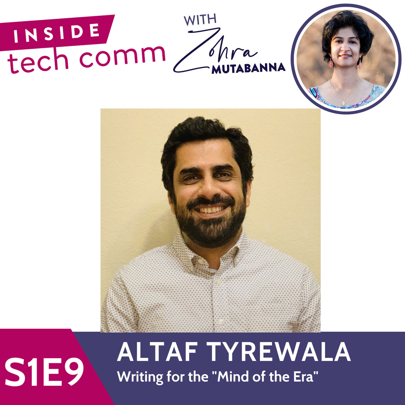 """S1E9 Writing for the """"Mind of the Era"""" with Altaf Tyrewala"""