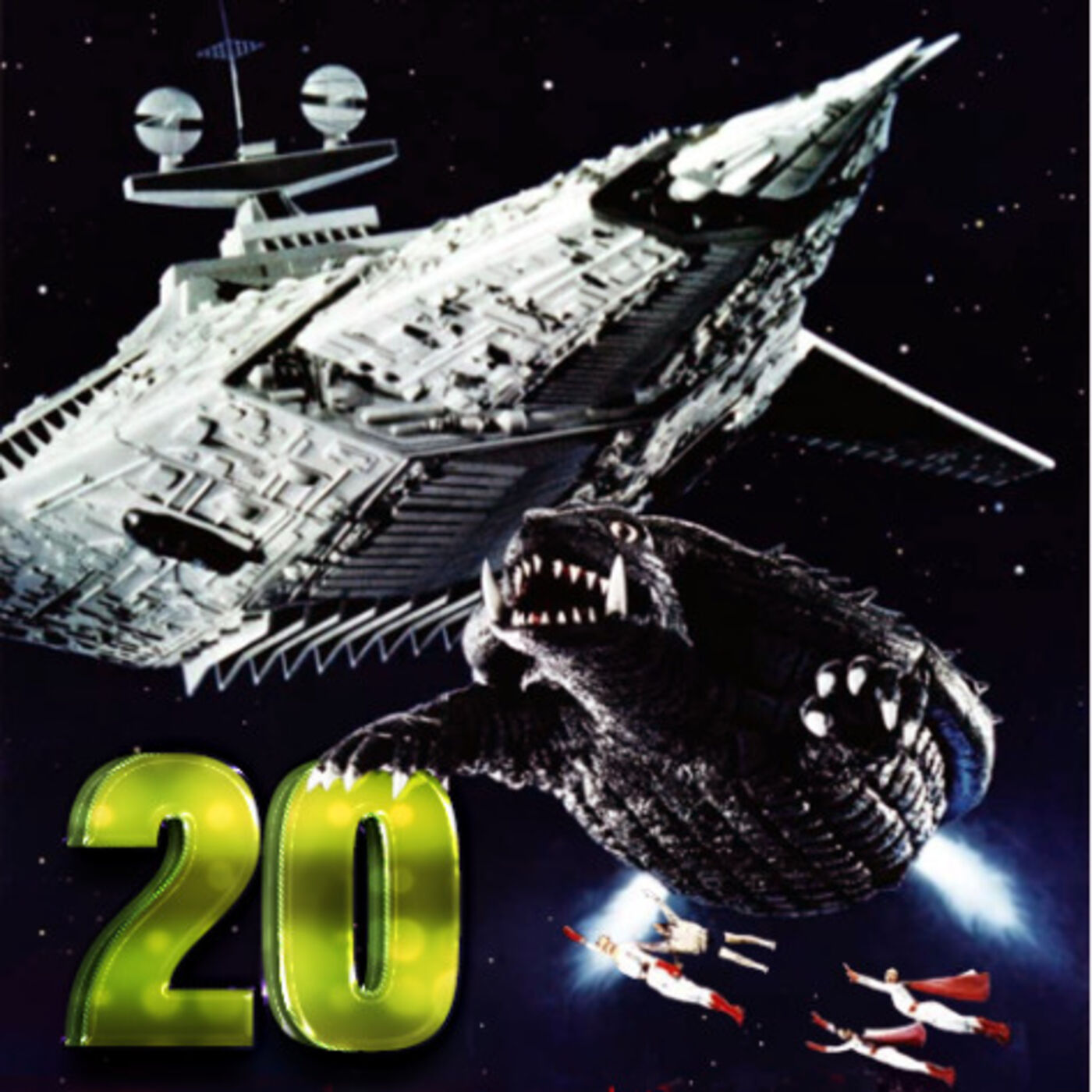 Ep 20 - Inexplicable Trains in Space (Gamera: Super Monster)