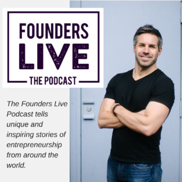 The Founders Live Podcast Podcast Artwork Image