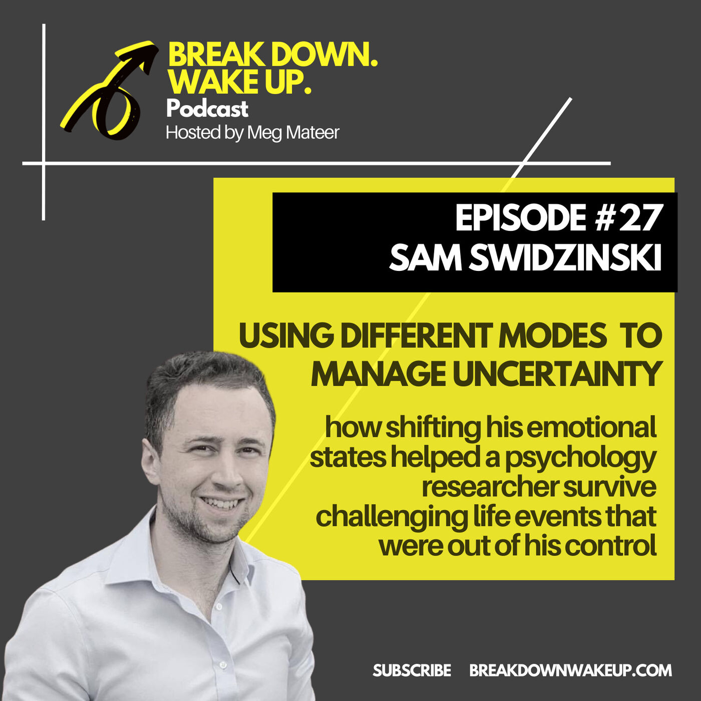 027 - Using different modes to manage uncertainty with Sam Swidzinski