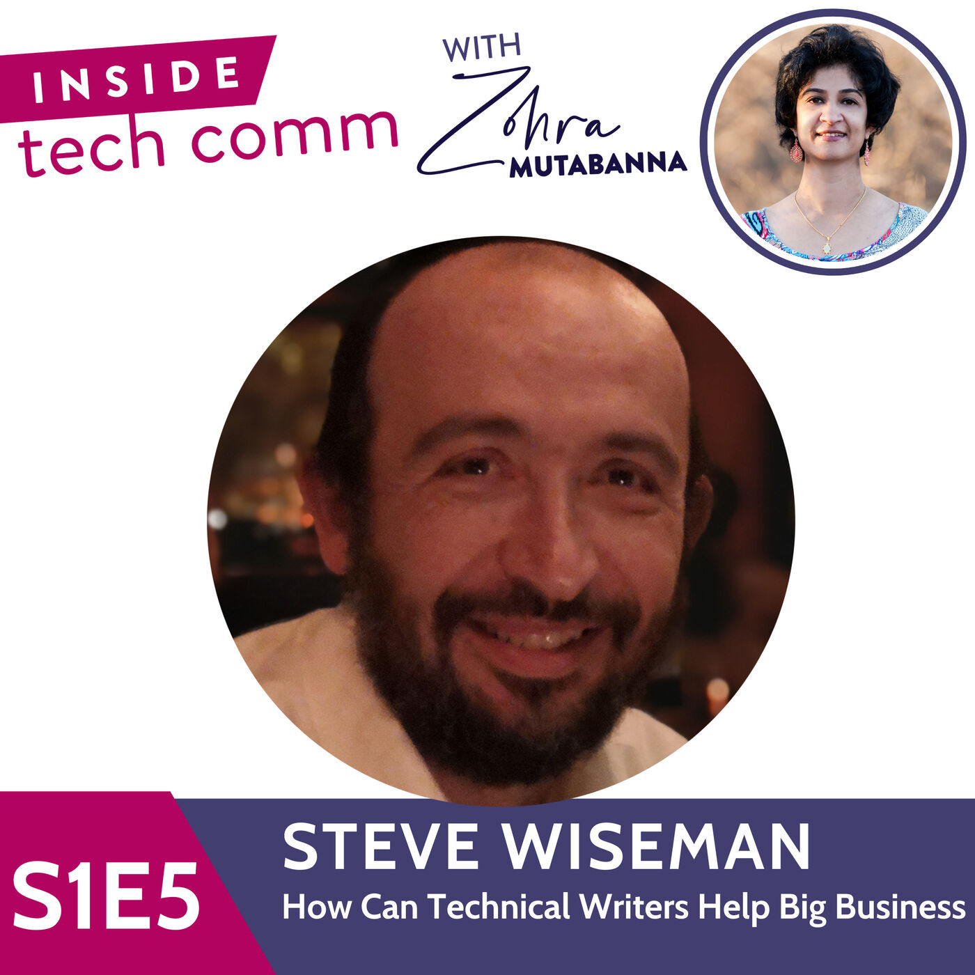 S1E5 How can technical writers help big business with Steve Wiseman