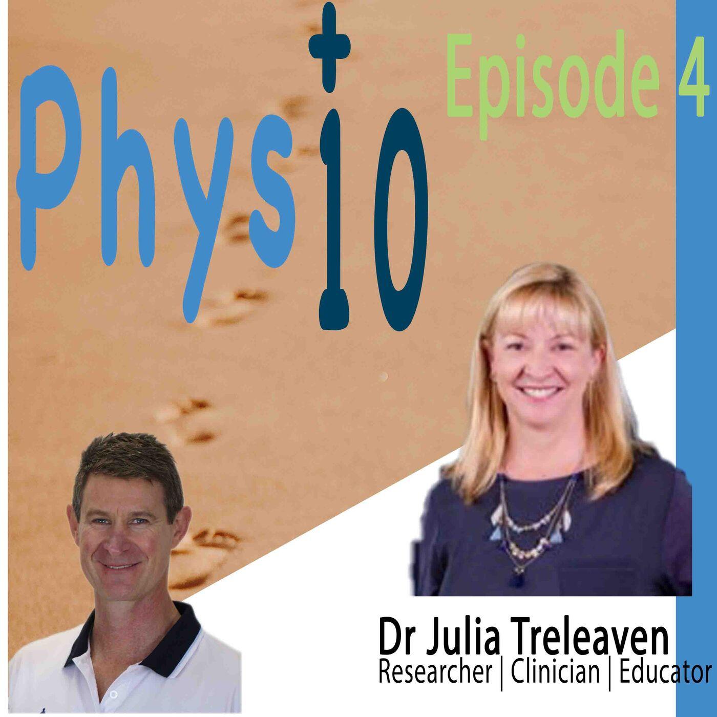 Dr Julia Treleaven:  Researcher | Clinician | Educator
