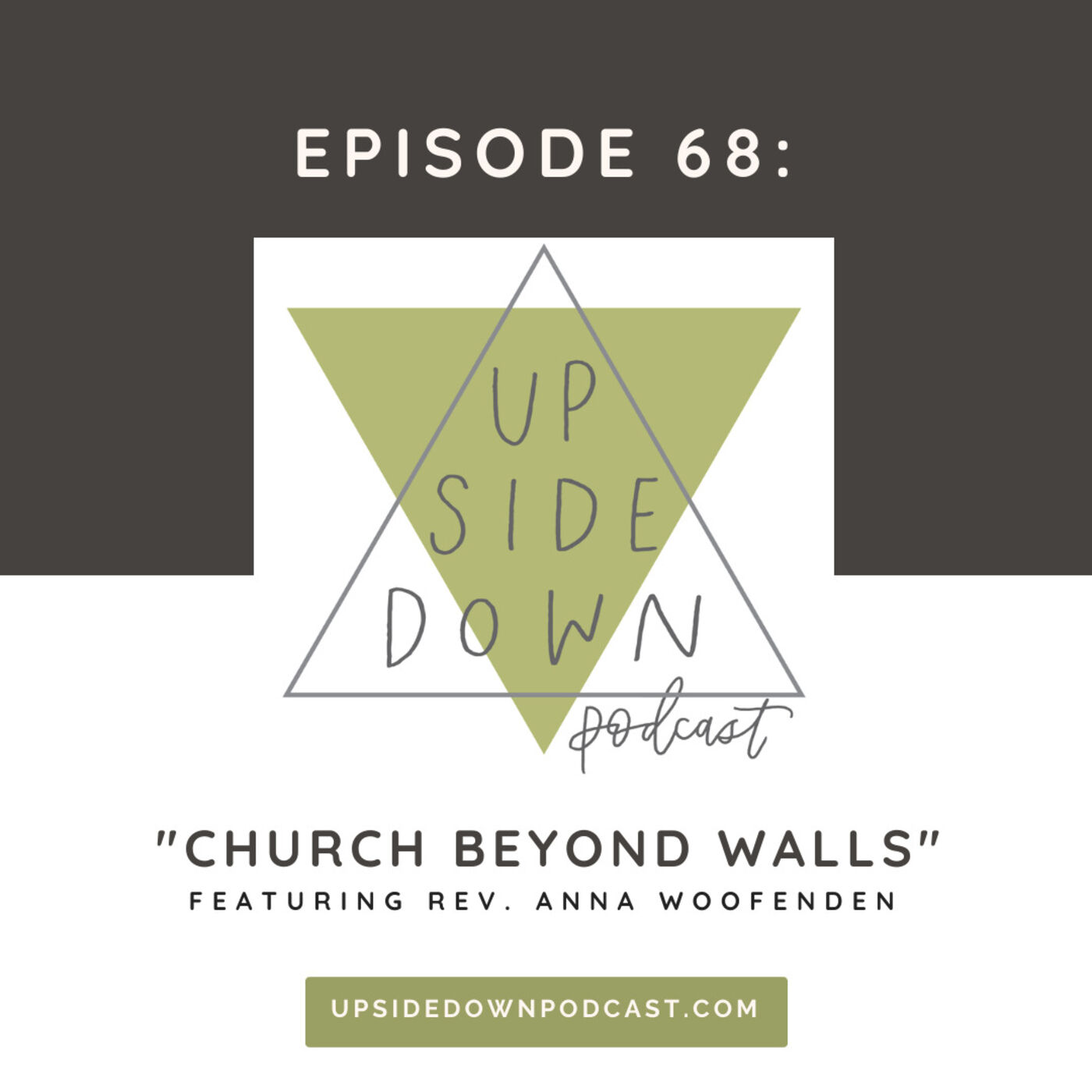 Episode 68: Church Beyond Walls: Loving Our Neighbor in Times of COVID-19 with Rev. Anna Woofenden