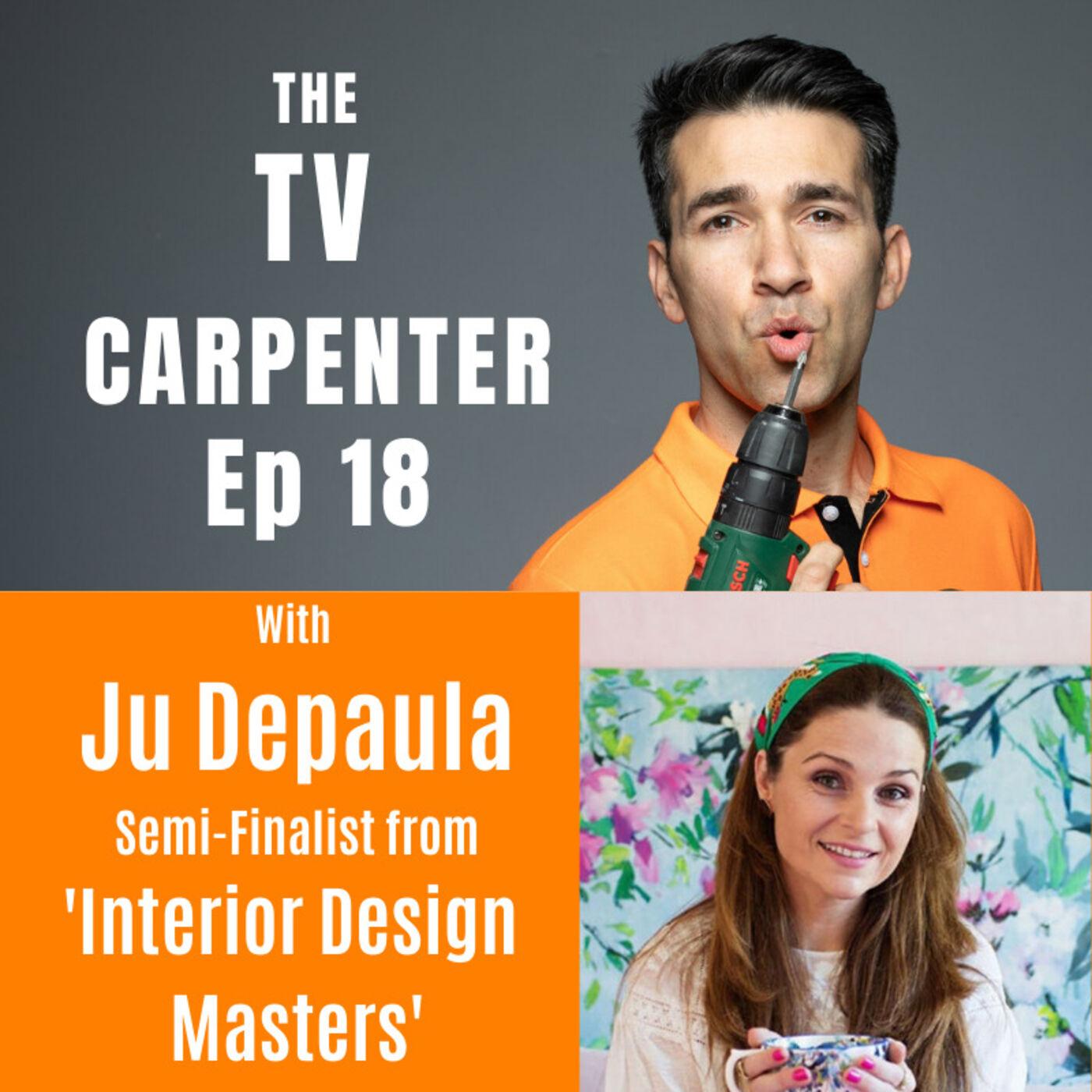 Wayne chats with Ju Depaula Semi-finalist from 'Interior Design Masters'