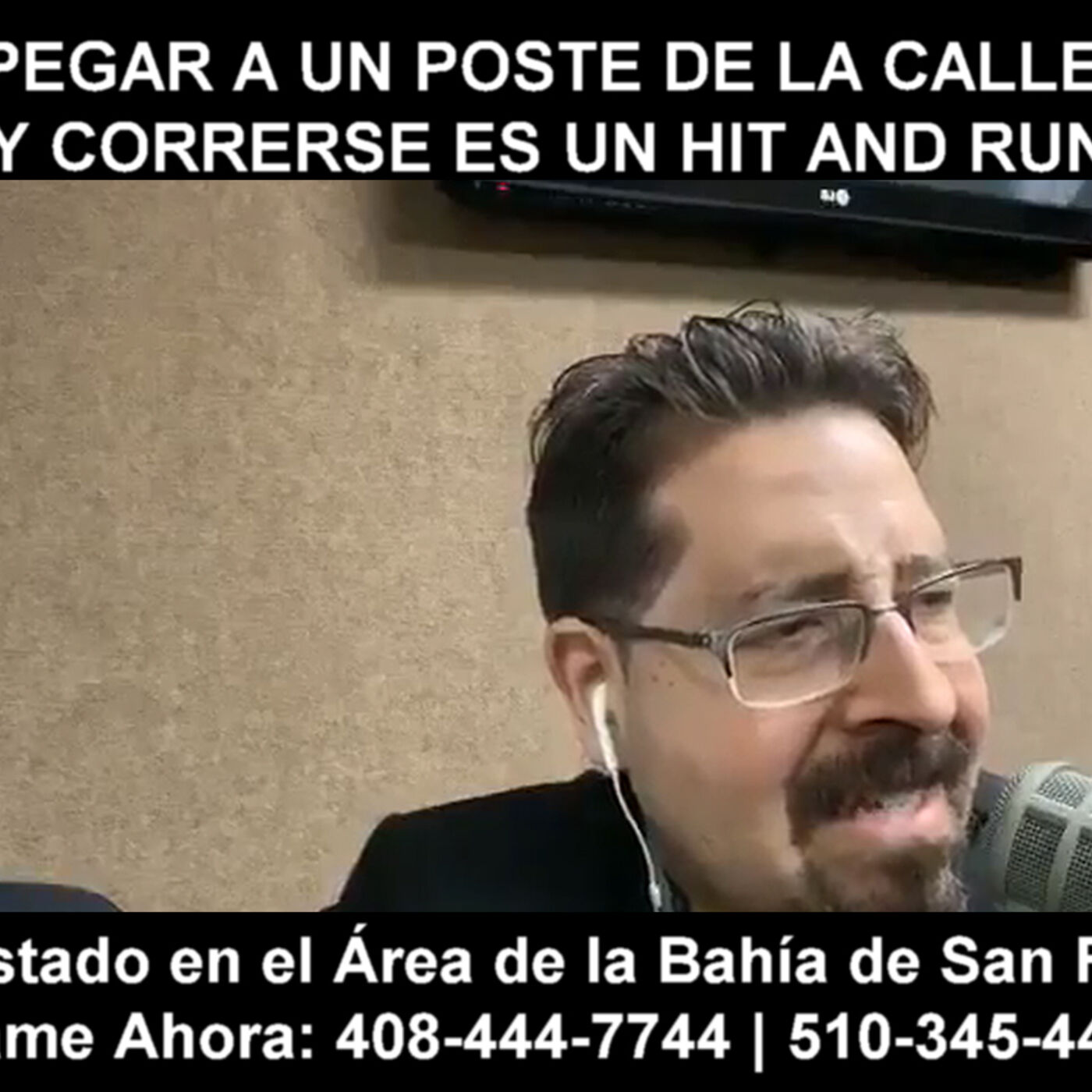 Pegar a un poste de la calle y correrse es un Hit and Run