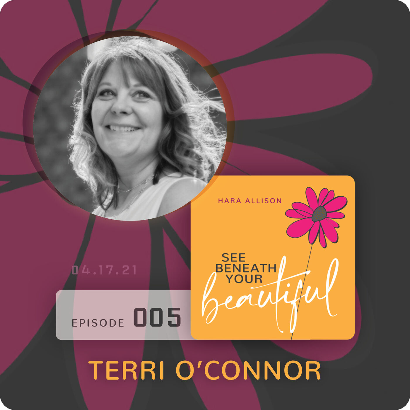 005. Terri O'Connor discusses flowers, Christ, Buddhism, chanting, a happy divorce, the four agreements, and blowing fairy dust out of her arse