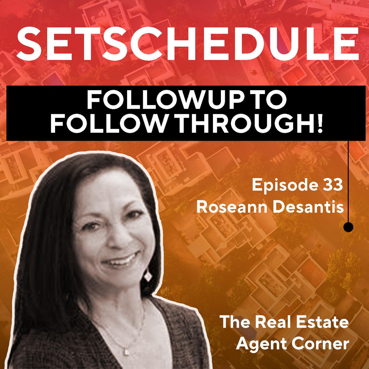 Followup to Follow Through! - Roseann Desantis
