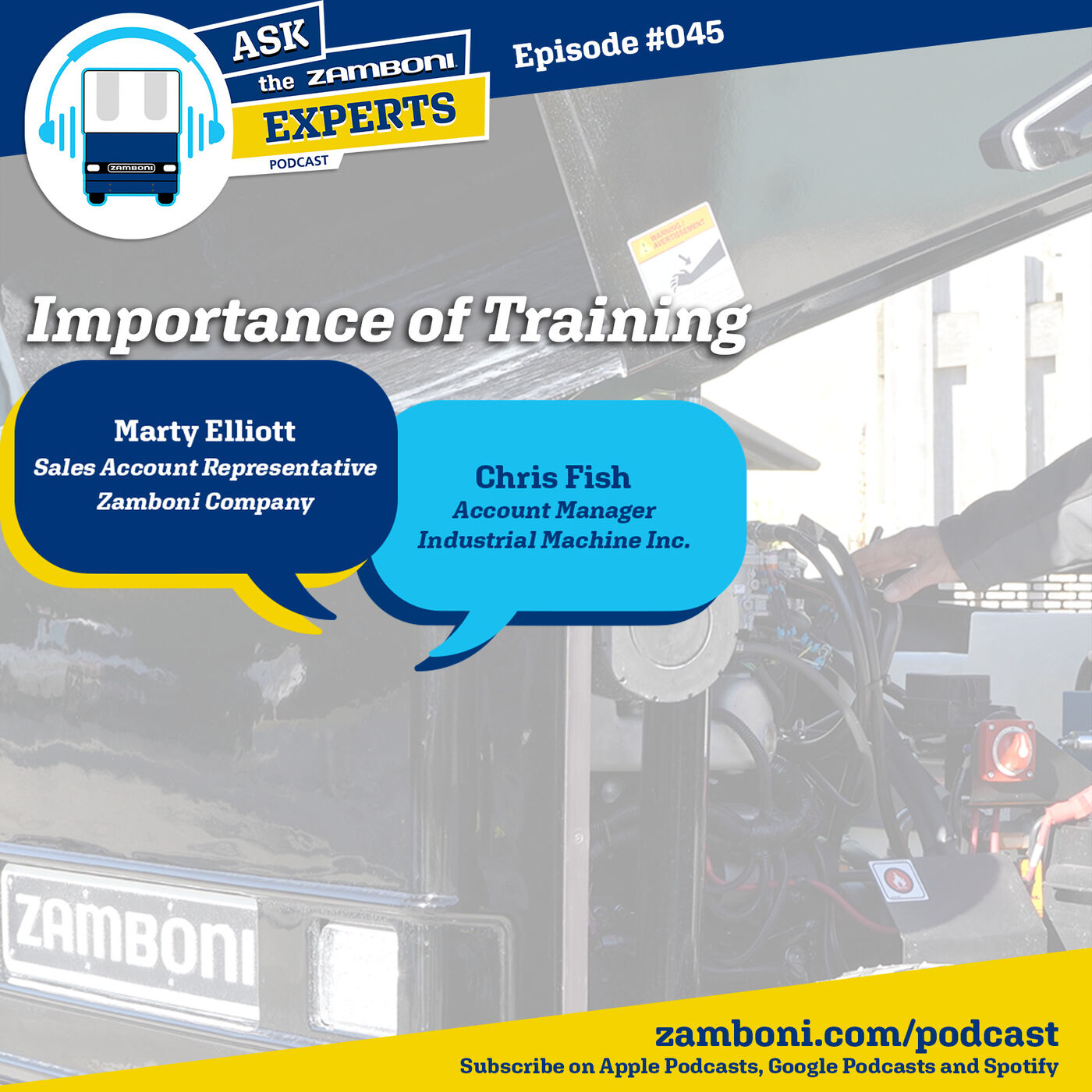 Episode #045: Importance of Training