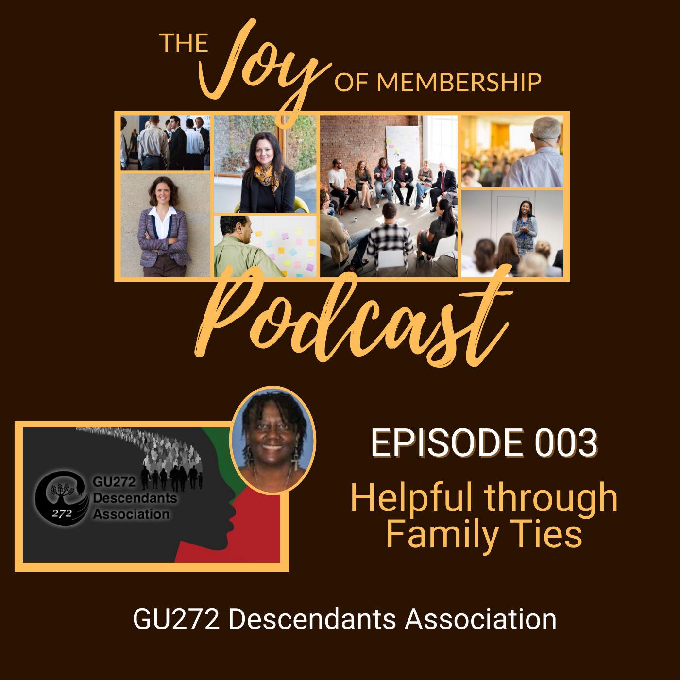 Helpful Through Family Ties: GU272 Descendants Association