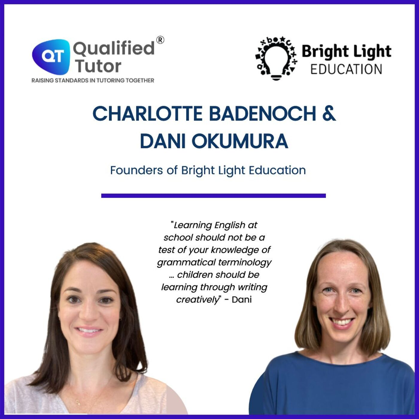 Redesigning the Primary English Curriculum, with the Founders of Bright Light Education