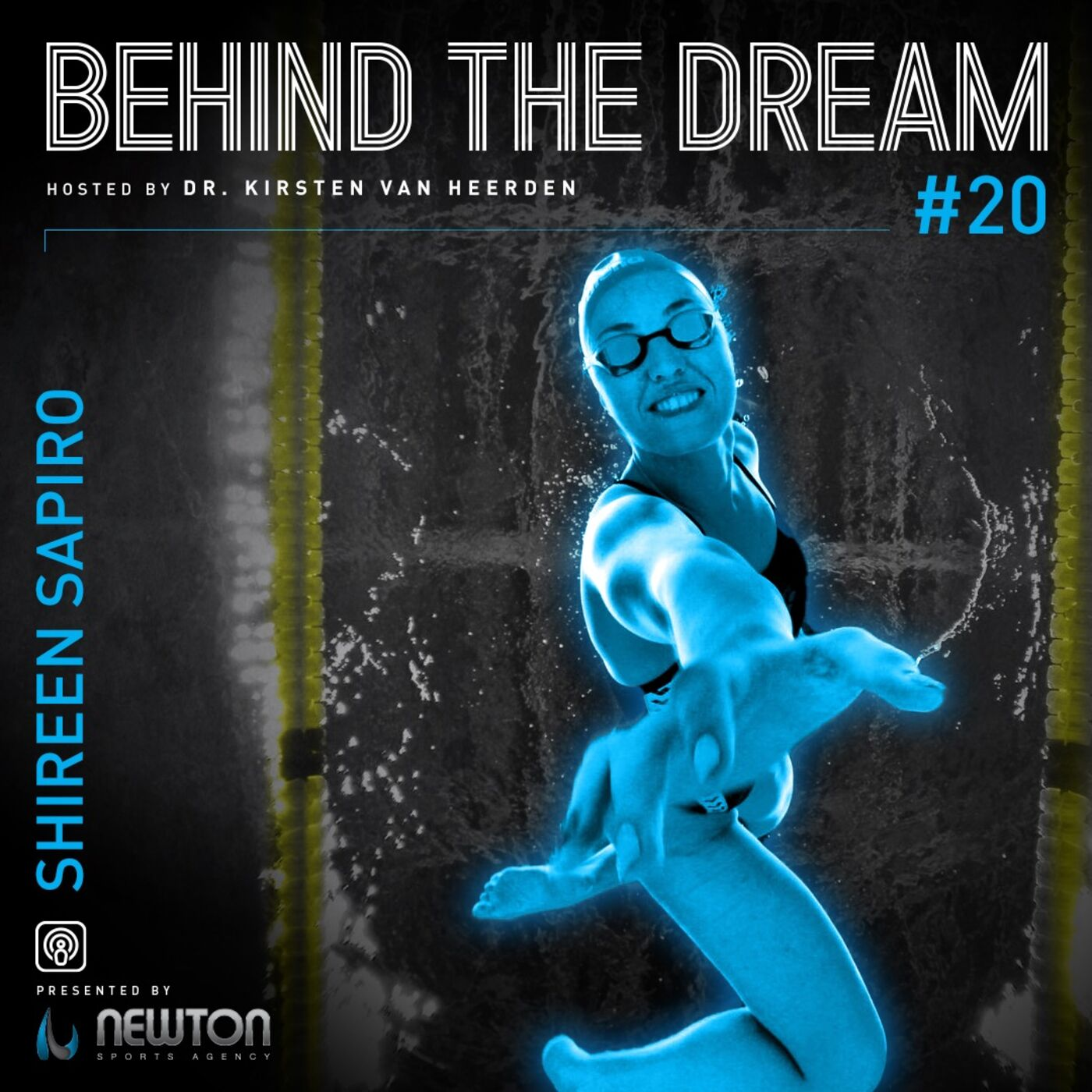 Episode #20: Former World Record holder and Paralympic Gold Medalist Shireen Sapiro talks about the heart break of retirement and finding herself again in life after swimming