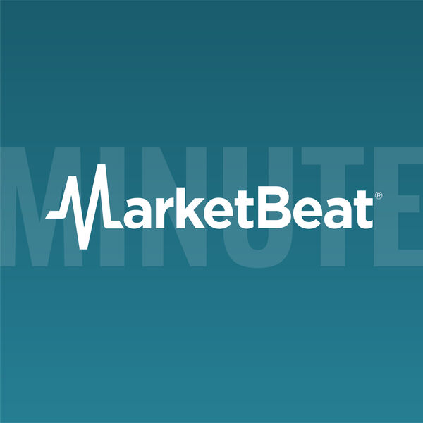 MarketBeat Minute Podcast Artwork Image