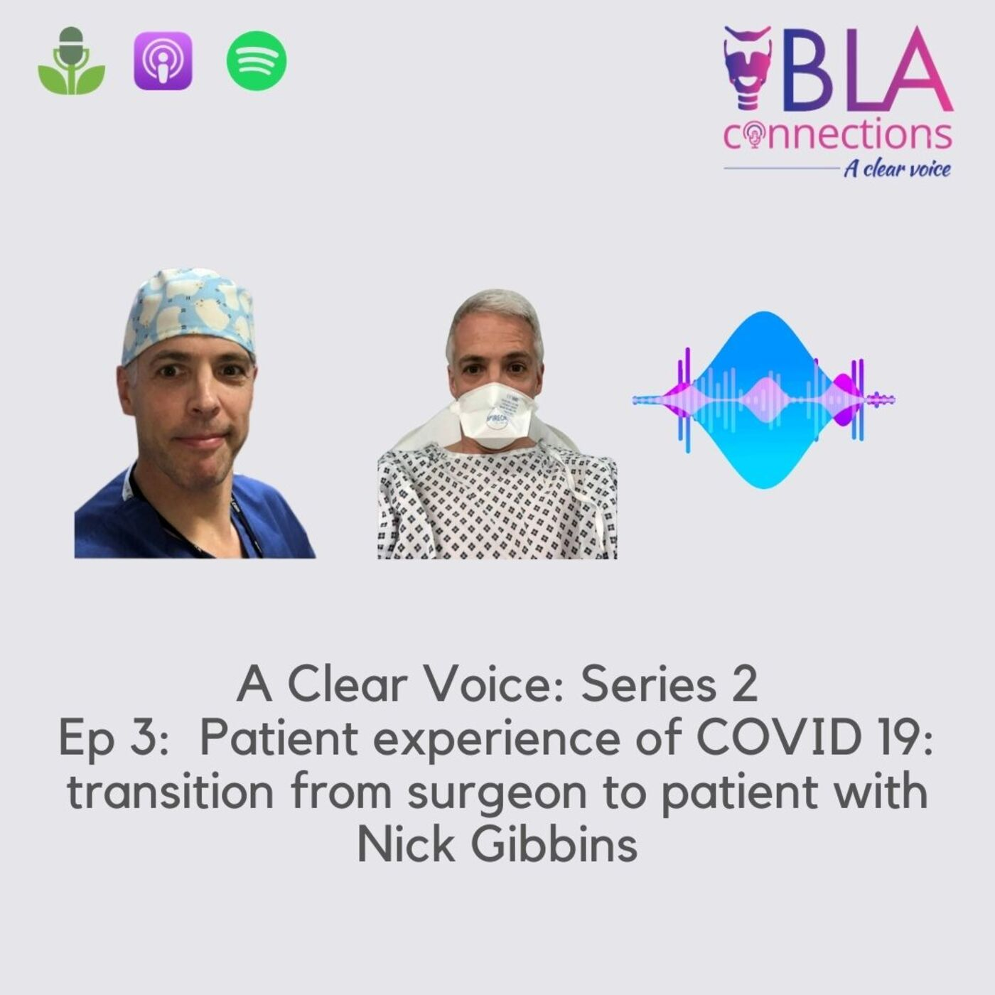 S2 Ep 3: Patient experience COVID-19: Transition from Surgeon to Patient