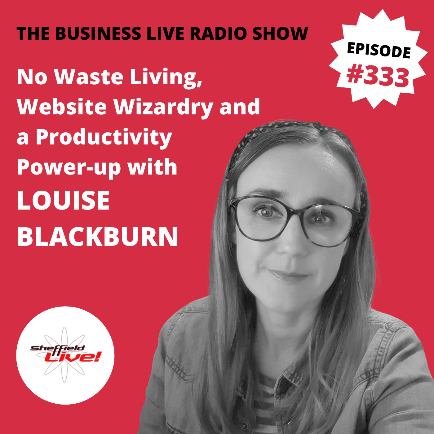 No Waste Living, Website Wizardry and a Productivity Power-Up with Louise Blackburn