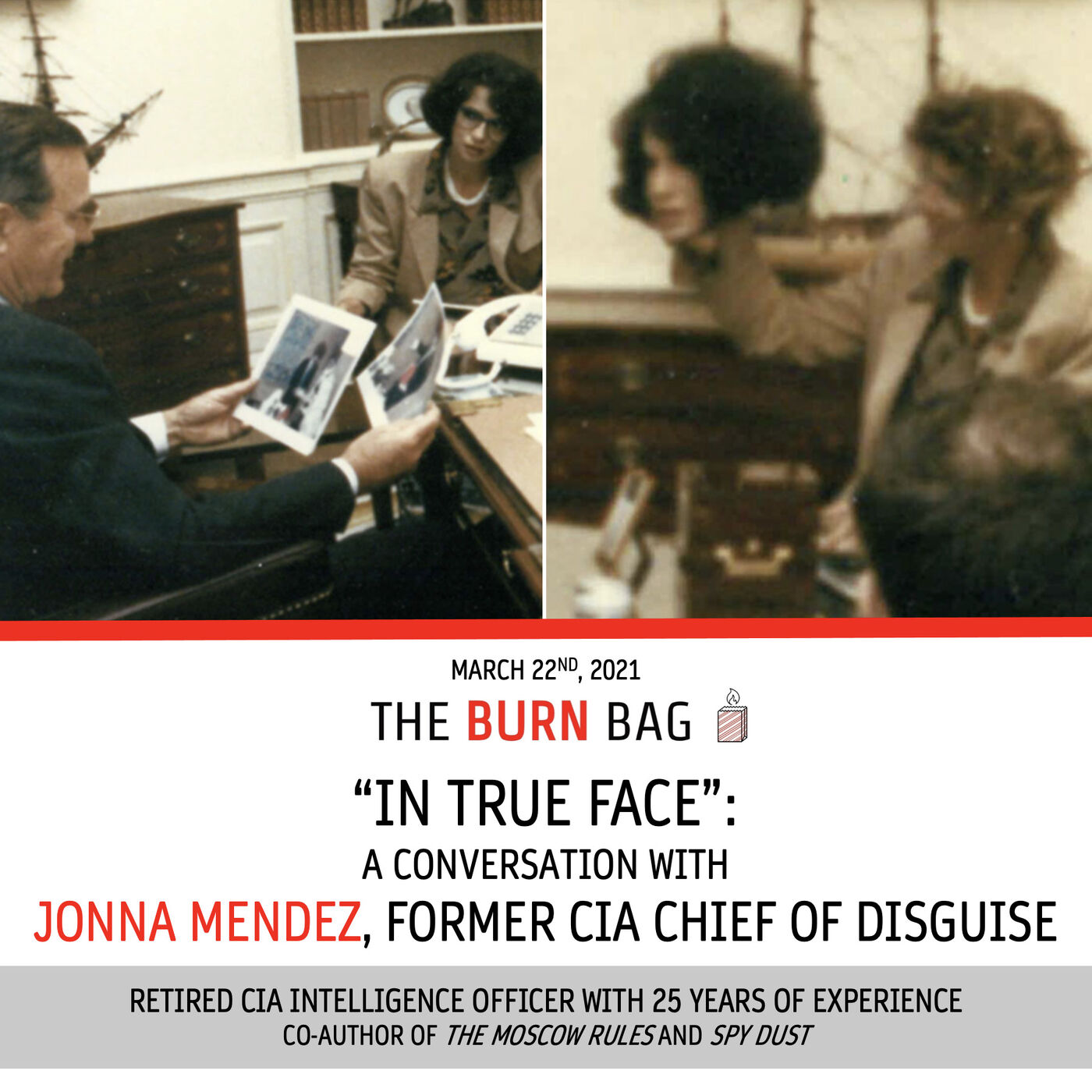 """""""In True Face"""": A Conversation with Jonna Mendez, former CIA Chief of Disguise"""