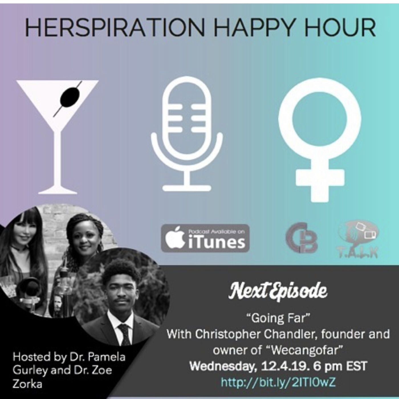 Herspiration Happy Hour Season 2 Episode 37: WE Can Go Far w/ Christopher Chandler
