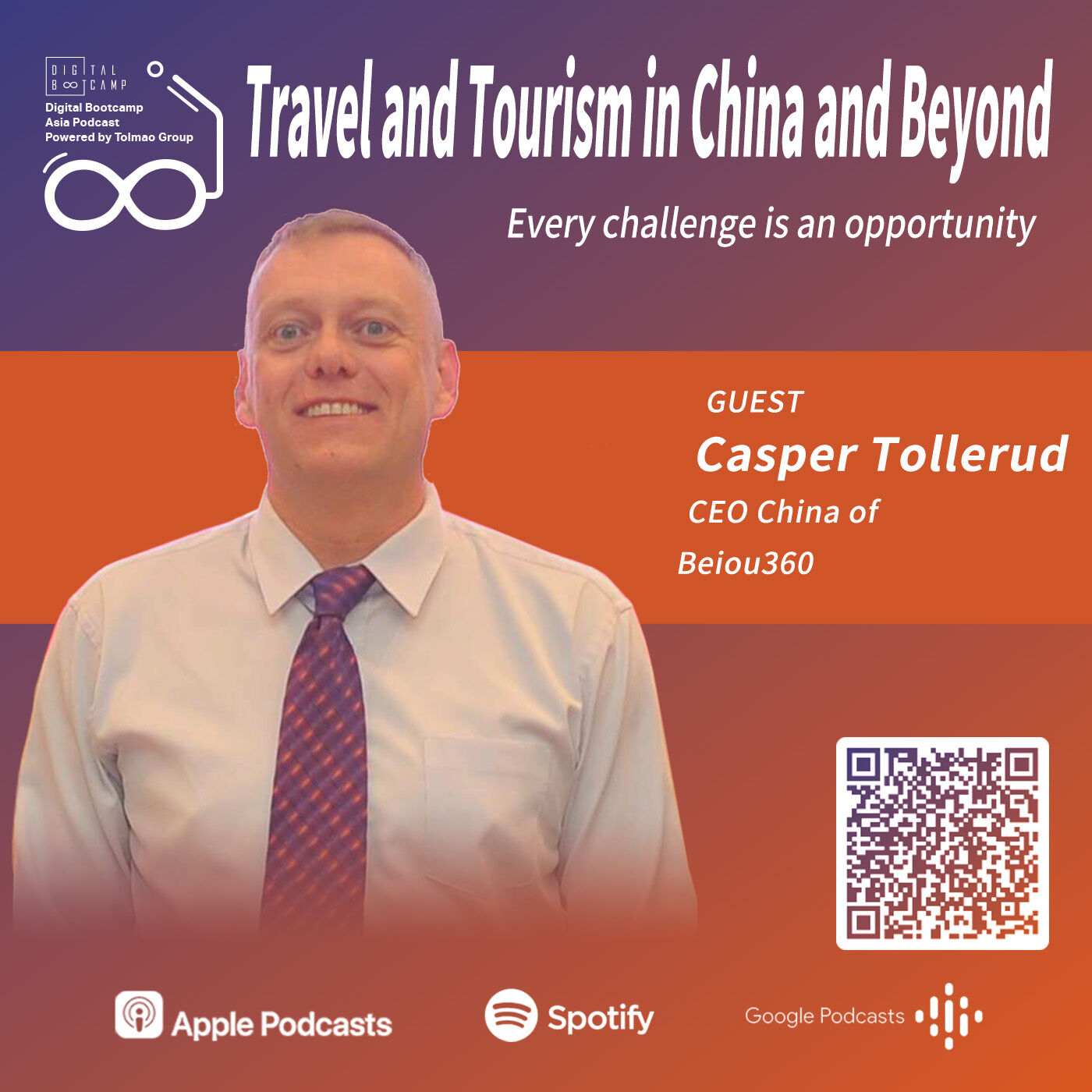 Travel and Tourism in China and Beyond with Casper Tollerud, CEO China of Beiou360