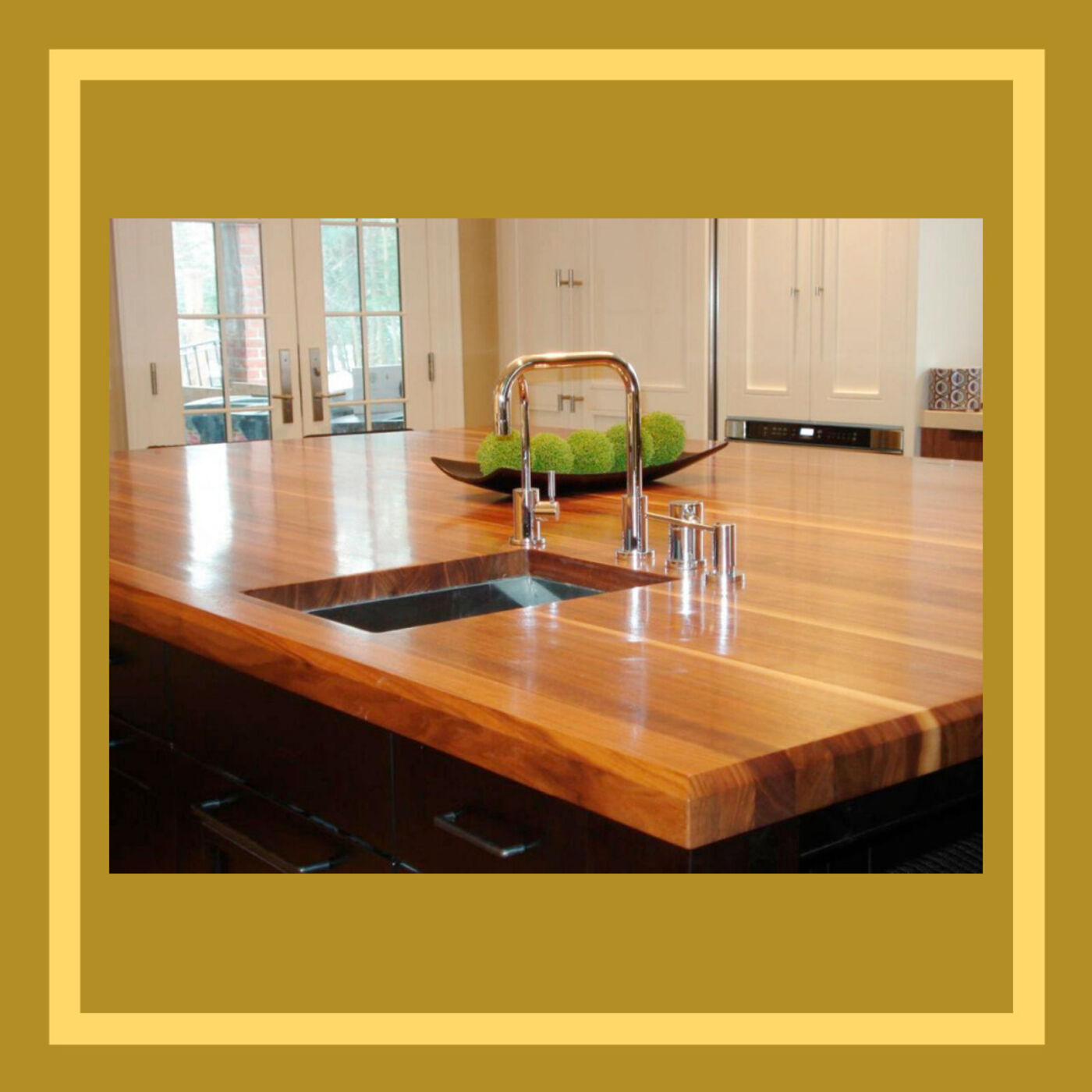 Countertops: Would You Dine on Wood?