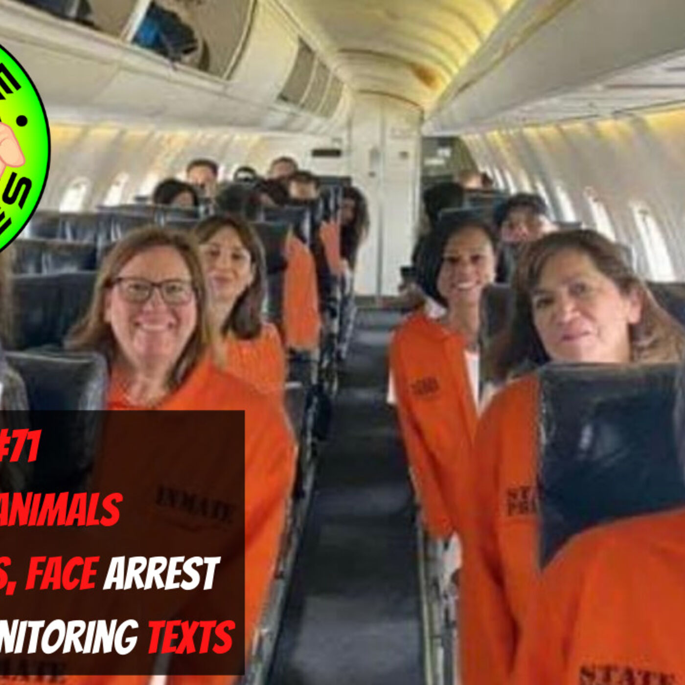 WS#71 Trapped Animals, Dems Flee TX, Face Arrests, Bejing Biden Monitoring Texts