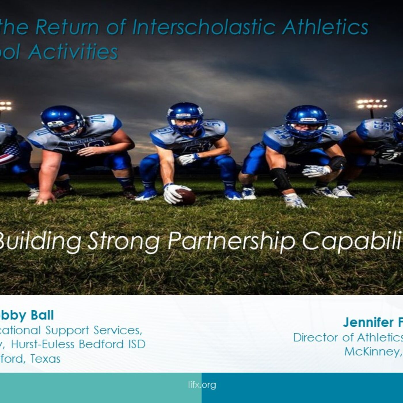 Session 5 - Building Strong Partnership Capabilities