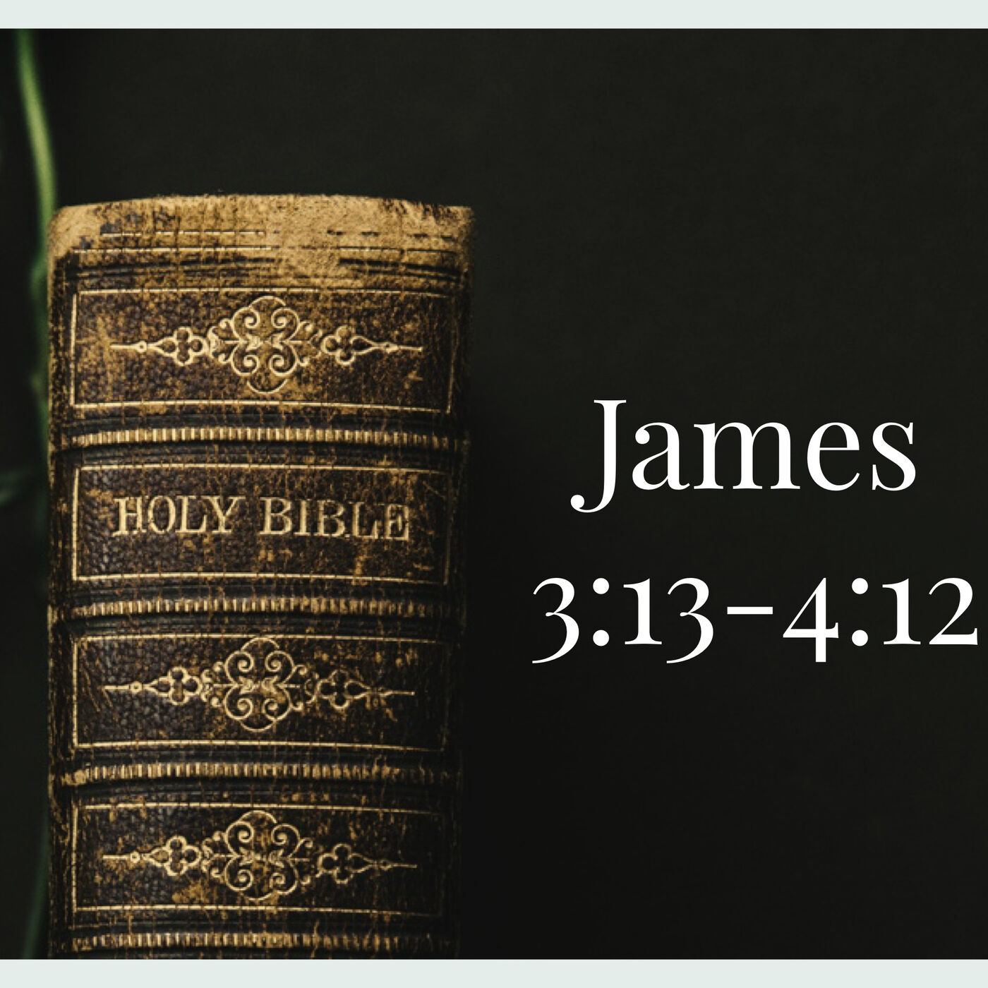 The Book of James-Week 4