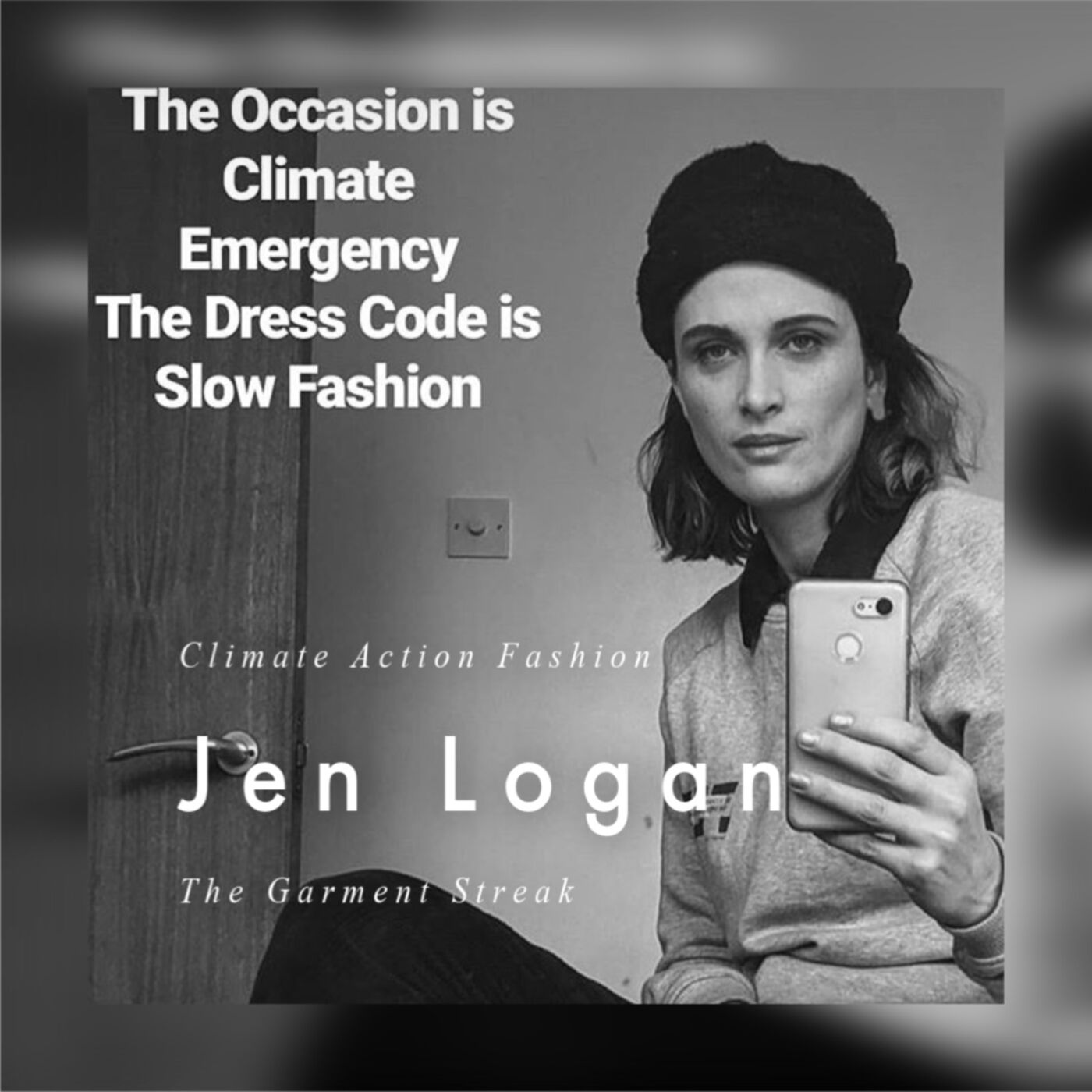 Jen Logan from 'The Garment Streak' - Slow fashion is a 'Must' for our world to survive and it does not 'Hate' style