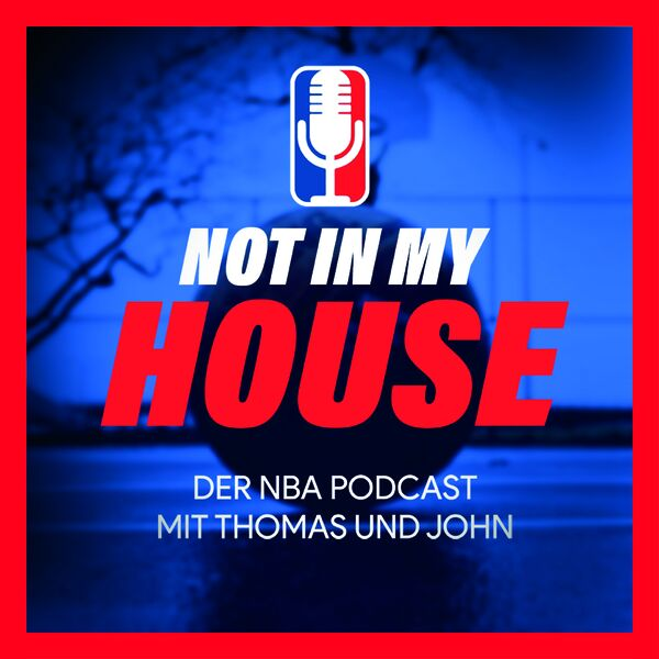 NOT IN MY HOUSE Podcast Artwork Image