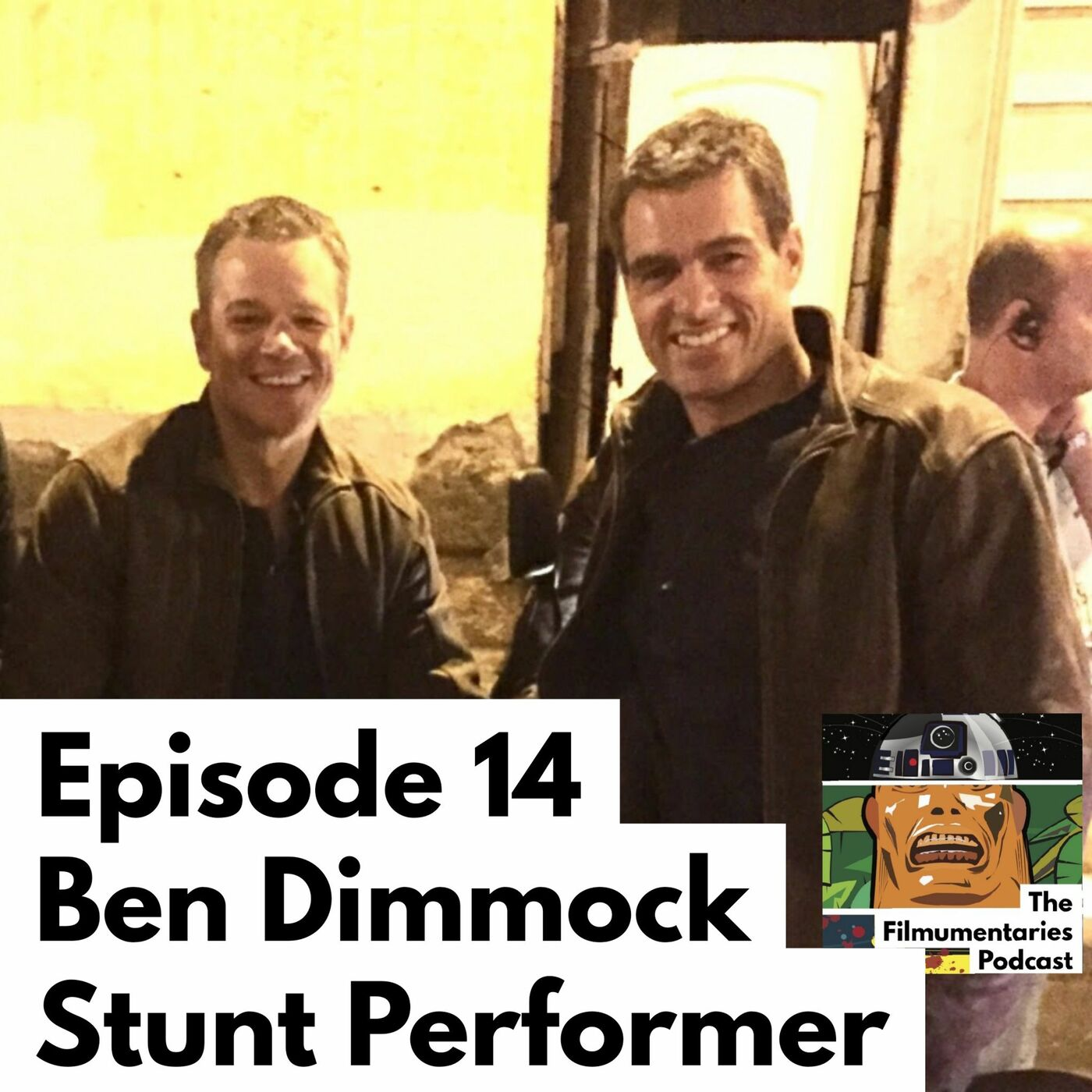 Ben Dimmock - Movie Stunt Performer / Matt Damon Double