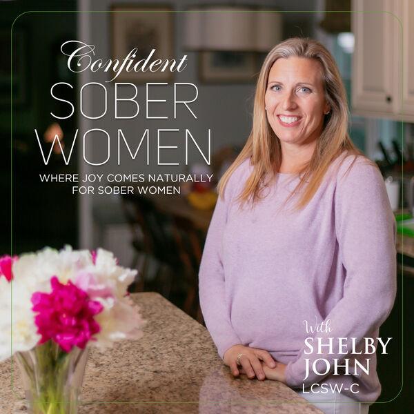 Confident Sober Women Podcast Artwork Image