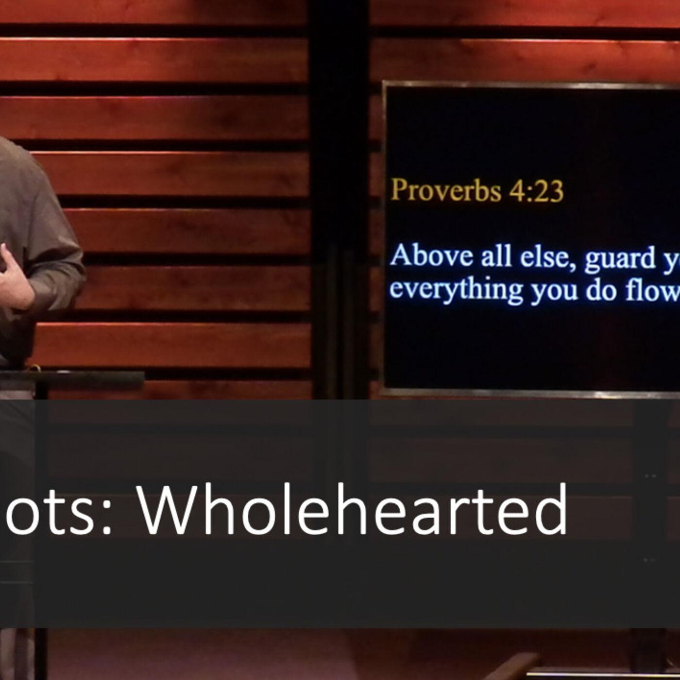 SnapShots: Wholehearted