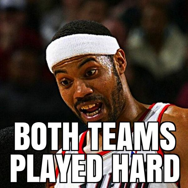 Both Teams Played Hard: Portland Trail Blazers Fan Podcast Podcast Artwork Image