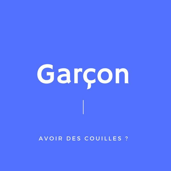 Garçon Podcast Artwork Image