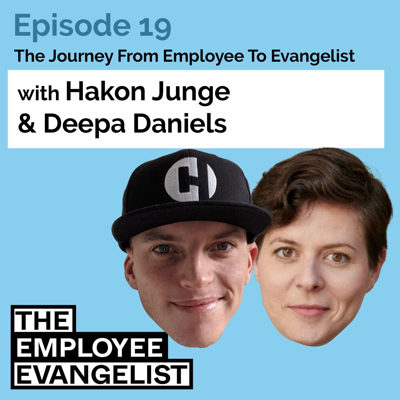 """Episode 19: """"How Do You Pick Yourself"""" with Deepa Daniels @ tamigo"""