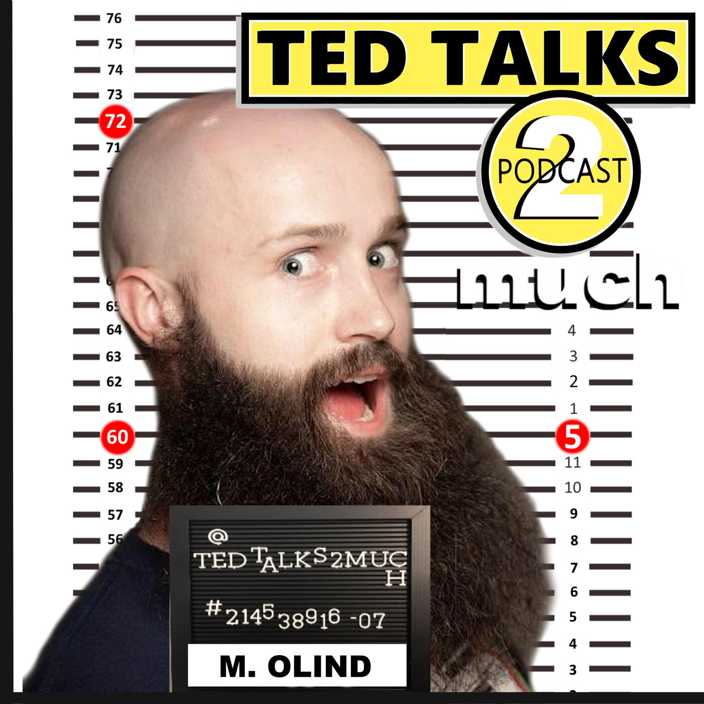 TED TALKS 2 Marcus Olind (Way 2 Much)... about Hollywood, Heckler & Managers.