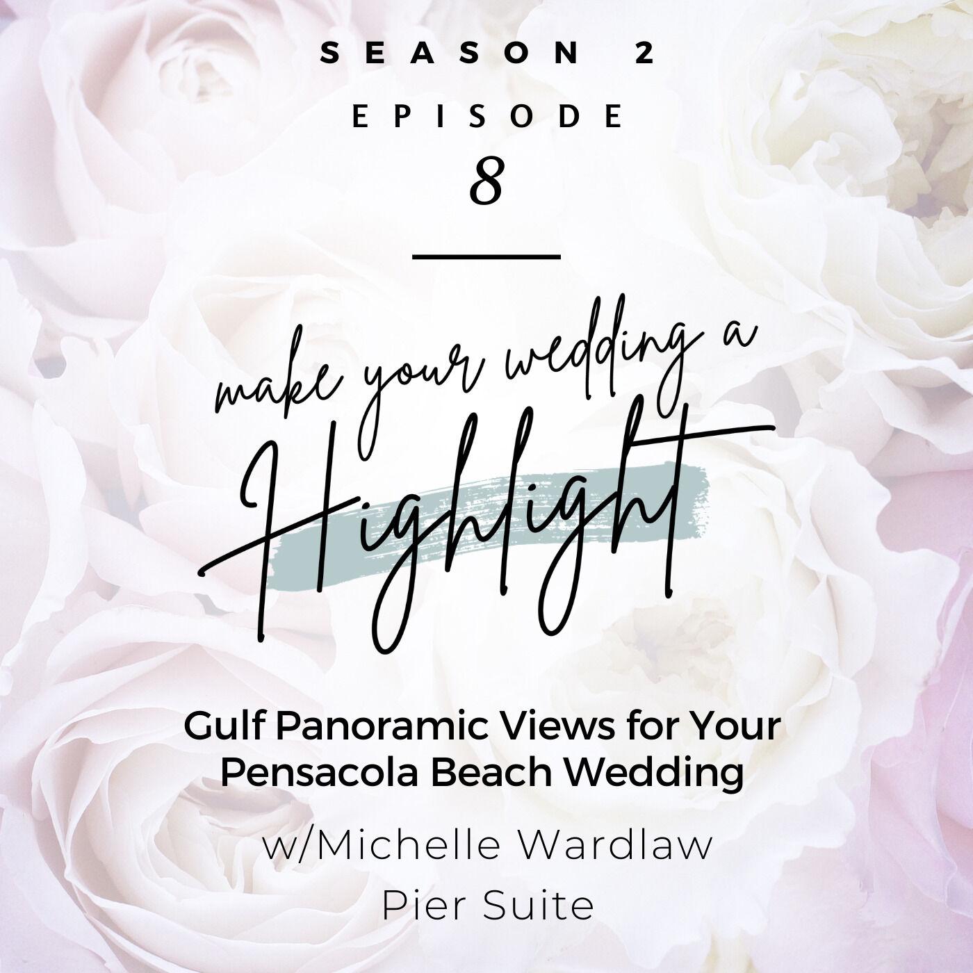 Gulf Panoramic Views for Your Pensacola Beach Wedding