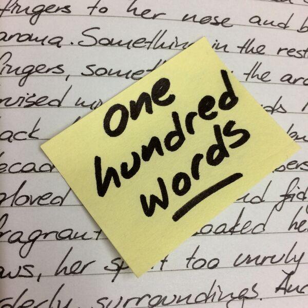 One Hundred Words Podcast Artwork Image